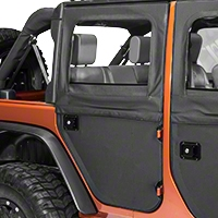 Bestop Rear 2pc Doors (07-13 Wrangler JK 4 Door) - Bestop 51799-35