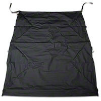 Bestop Safari Bikini Top w/Windshield Channel, Cable Style, Black Diamond (10-13 Wrangler 2 Door) - Bestop 52593-35