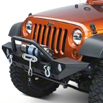 Barricade Trail Force HD Front Bumper (07-14 Wrangler JK) - Barricade J20850