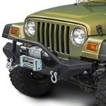 Barricade Trail Force HD Front Bumper (87-06 Wrangler YJ & TJ) - Barricade J20851