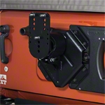 Teraflex HD Hinged Carrier with Adjustable Tire Mount (07-14 Wrangler JK) - Teraflex 4838150||4838150