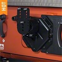 Teraflex HD Hinged Carrier with Adjustable Tire Mount (07-15 Wrangler JK) - Teraflex 4838150