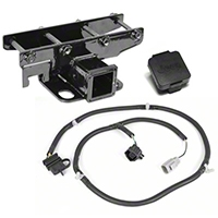 Rugged Ridge Receiver Hitch Kit w/Plug (07-13 Wrangler JK) - Rugged Ridge 11580.52