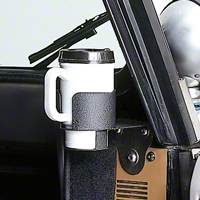 Rugged Ridge Cup Holder Windshield Mount (87-95 Wrangler YJ) - Rugged Ridge 13306.01