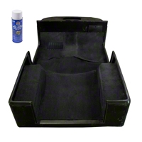 Rugged Ridge Deluxe Carpet Kit w/Adhesive, Black (97-06 Wrangler TJ) - Rugged Ridge 13696.01
