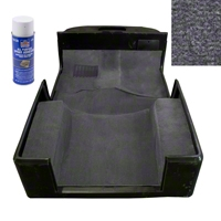 Rugged Ridge Deluxe Carpet Kit w/Adhesive, Gray (97-06 Wrangler TJ) - Rugged Ridge 13696.09