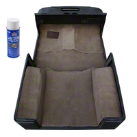 Rugged Ridge Deluxe Carpet Kit w/Adhesive, Honey (97-06 Wrangler TJ) - Rugged Ridge 13696.1