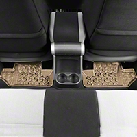 Rugged Ridge Rear Floor Liners, Tan (07-13 Wrangler JK) - Rugged Ridge 13950.02