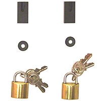 Rugged Ridge Door Hinge Lock Kit (97-06 Wrangler TJ) - Rugged Ridge MS-SLG1