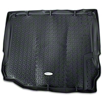 Rugged Ridge Cargo Liner, Tread Lightly, Black (11-13 Wrangler JK) - Rugged Ridge TL-12975.03