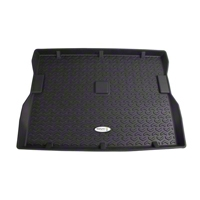 Rugged Ridge Cargo Liner, Tread Lightly, Black (87-95 Wrangler YJ) - Rugged Ridge TL-12975.22