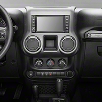 Rugged Ridge Center Radio Console, Charcoal (11-13 Wrangler JK) - Rugged Ridge 11157.24