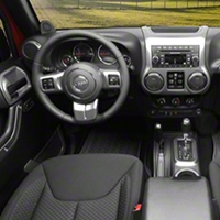 Rugged Ridge Interior Trim Accent Kit, Charcoal, Manual (11-13 Wrangler JK 4 Door) - Rugged Ridge 11157.95
