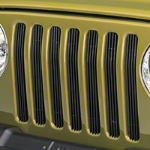 Red Rock 4x4 Black Billet Grille Inserts (97-06 Wrangler TJ) - Red Rock 4x4 J40007