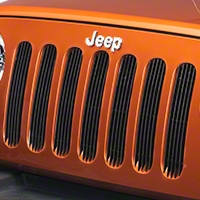 Red Rock 4x4 Black Billet Grille Inserts (07-14 Wrangler JK) - Red Rock 4x4 J40009