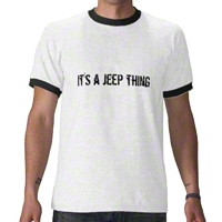 It's a Jeep Thing T-Shirt - Ringer Tee - XT Accessories TBD1
