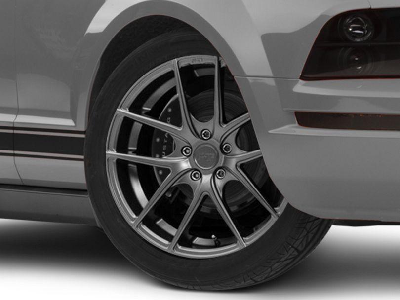 Niche Targa Matte Anthracite Wheel - 19x9.5 - Rear Only (05-09 All)