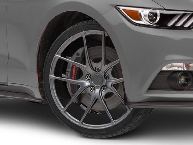 Niche Targa Matte Anthracite Wheel - 19x8.5 (15-19 EcoBoost, V6)