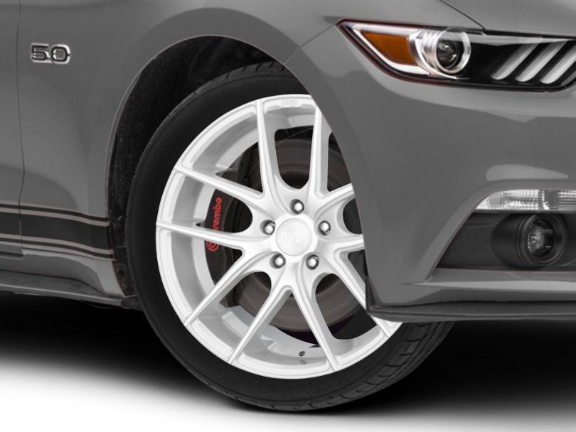Niche Targa Matte Silver Wheel; 19x8.5 (15-20 EcoBoost, V6)