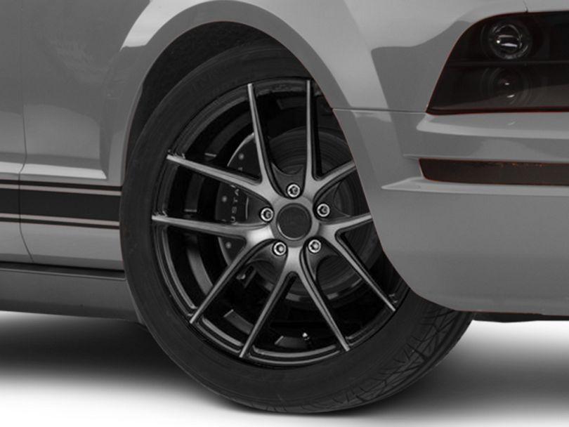 Niche Targa Matte Black Wheel; Rear Only; 19x9.5 (05-09 All)