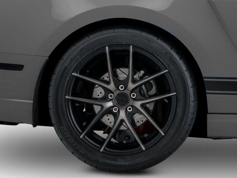 Niche Targa Matte Black Wheel; Rear Only; 19x9.5 (10-14 All)
