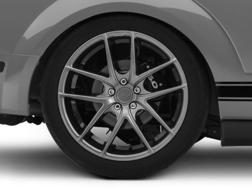 Niche Targa Matte Anthracite Wheel; Rear Only; 20x10 (05-09 All)