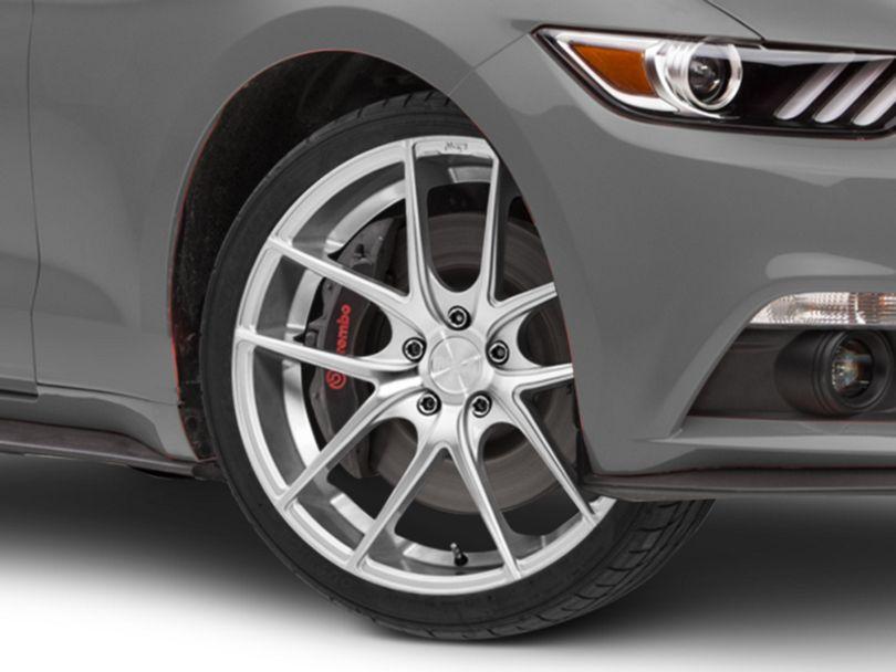 Niche Targa Matte Silver Wheel; 20x8.5 (15-20 GT, EcoBoost, V6)