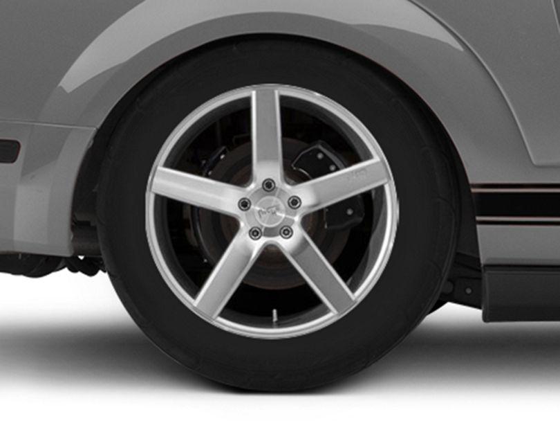 Niche Milan Silver Wheel - 20x10 - Rear Only (05-09 All)