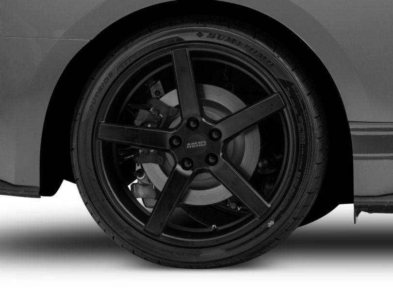 MMD 551C Matte Black Wheel; Rear Only; 20x10 (15-20 GT, EcoBoost, V6)