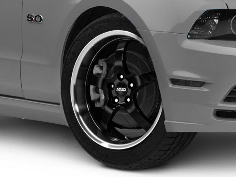 MMD Kage Black Wheel; 19x8.5 (10-14 Standard GT, V6)