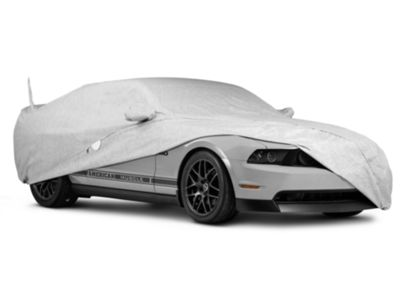 Covercraft Deluxe Custom-Fit Car Cover - 50th Anniversary Logo (10-14 All, Excluding 13-14 GT500)