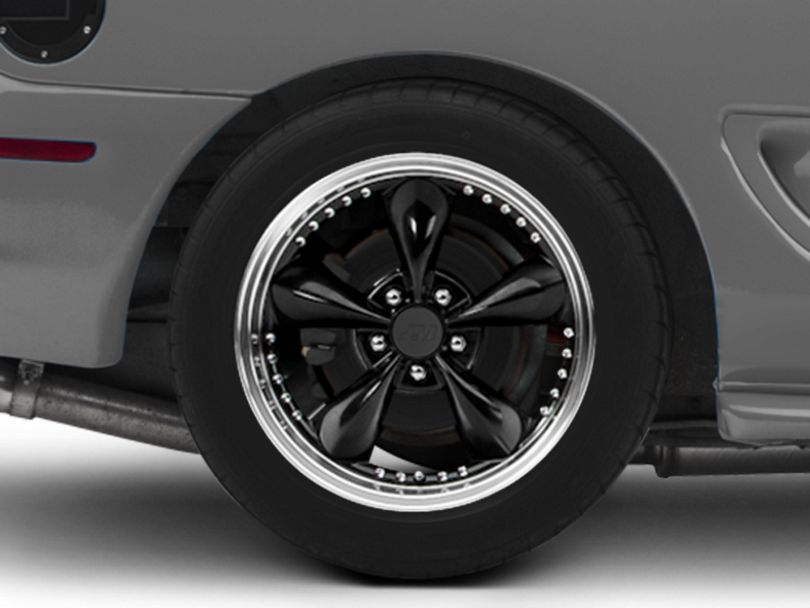 Bullitt Motorsport Black Wheel - 18x10 - Rear Only (94-98 All)