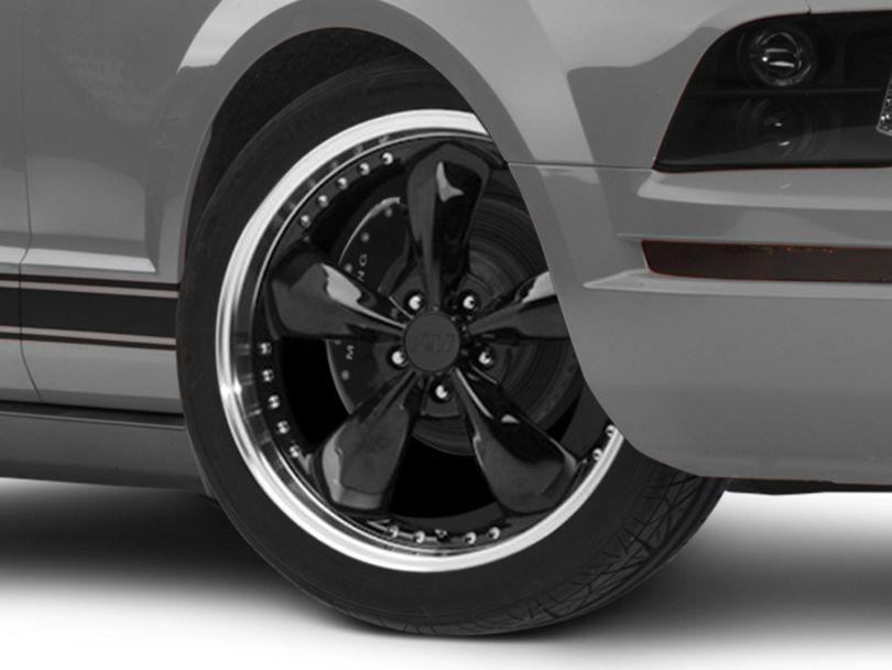 Bullitt Motorsport Black Wheel - 20x8.5 (05-09 GT, V6)