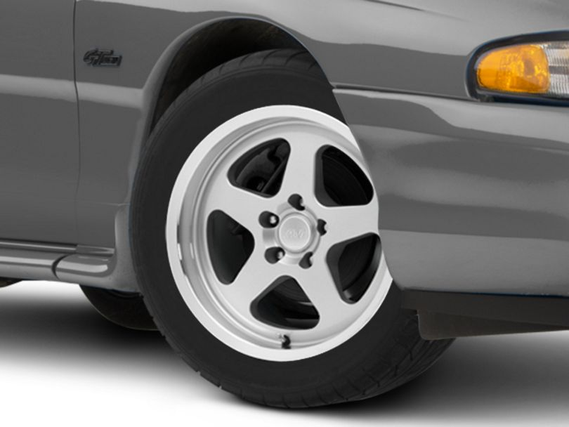 SC Style Silver Wheel; 17x9 (94-98 All)