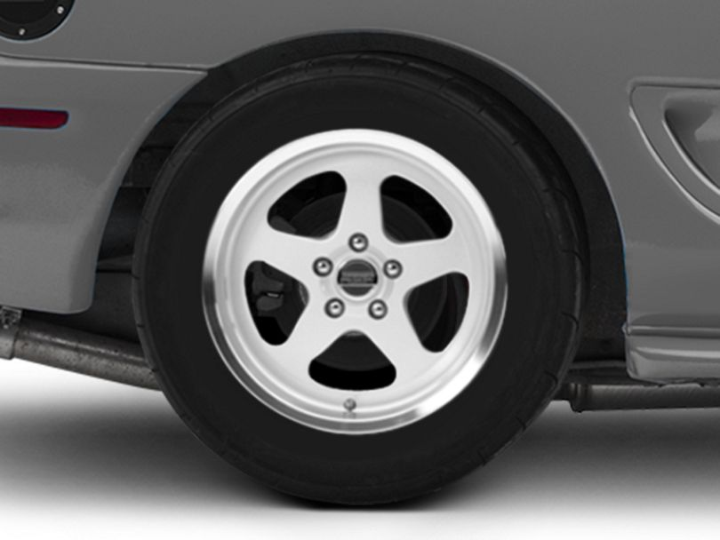SC Style Silver Wheel - 17x10 - Rear Only (94-98 All)