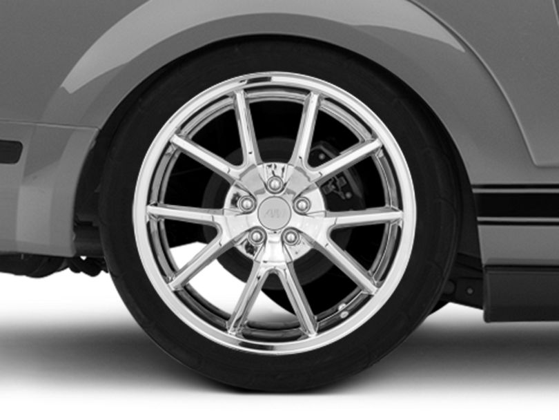 FR500 Style Chrome Wheel - 20x10 - Rear Only (05-09 All)