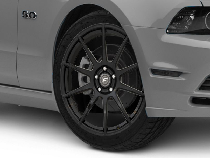 Forgestar CF10 Monoblock Piano Black Wheel; 20x9 (10-14 All)
