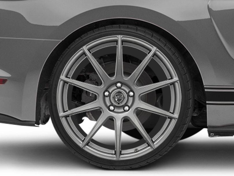 Forgestar CF10 Monoblock Gunmetal Wheel - 20x11 - Rear Only (15-20 GT, EcoBoost, V6)