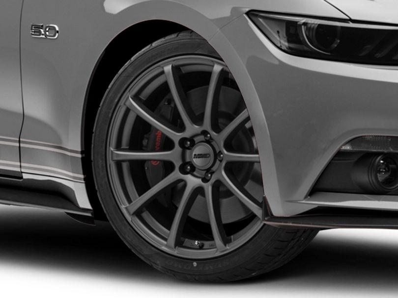 MMD Axim Charcoal Wheel; 20x8.5 (15-20 GT, EcoBoost, V6)