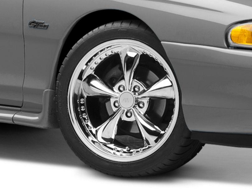 Bullitt Motorsport Chrome Wheel - 18x9 (94-98 All)
