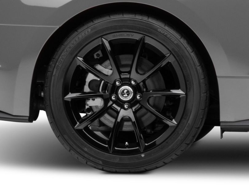 Shelby Super Snake Style Black Wheel - 19x10 - Rear Only (15-19 GT, EcoBoost, V6)