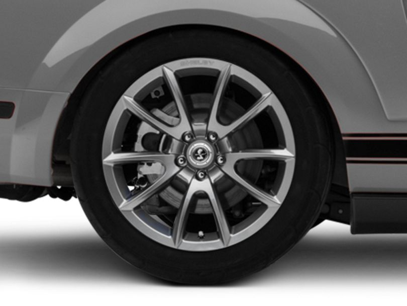Shelby Super Snake Style Charcoal Wheel - 19x10 - Rear Only (05-09 All)