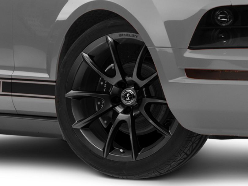 Shelby Super Snake Style Charcoal Wheel; 20x9 (05-09 All)