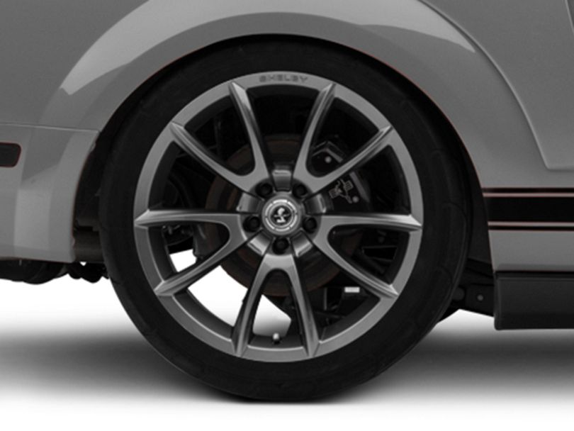 Shelby Super Snake Style Charcoal Wheel - 20x10 - Rear Only (05-09 All)