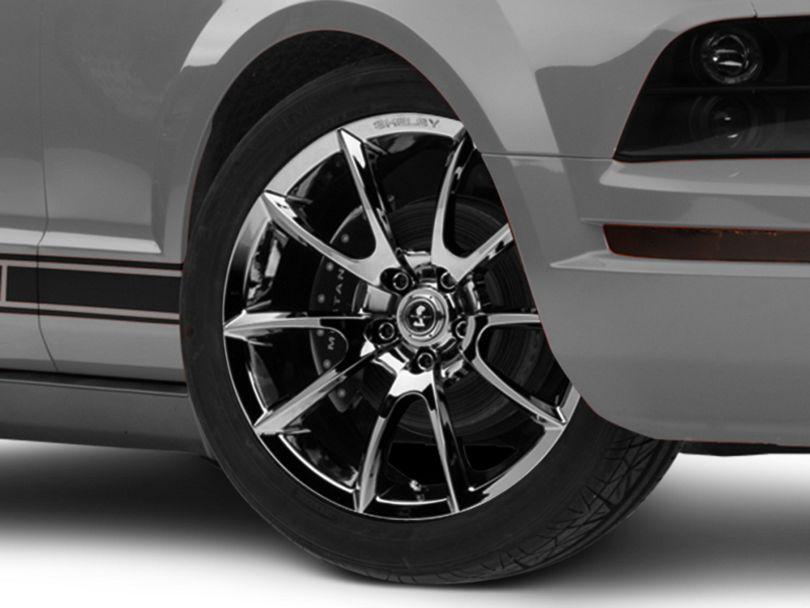 Shelby Super Snake Style Chrome Wheel - 19x8.5 (05-09 All)