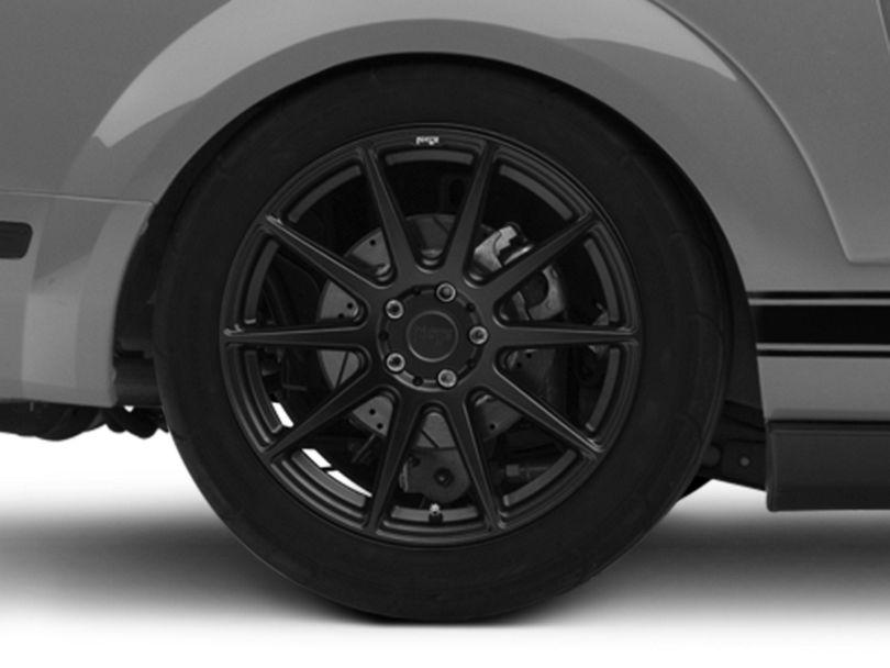Niche Essen Matte Black Wheel; Rear Only; 19x10 (05-09 All)