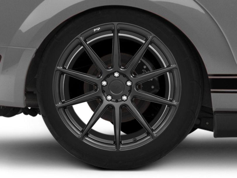 Niche Essen Matte Black Wheel; Rear Only; 20x10 (05-09 All)