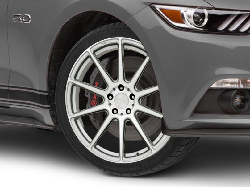 Niche Essen Silver Wheel; 19x8.5 (15-20 GT, EcoBoost, V6)