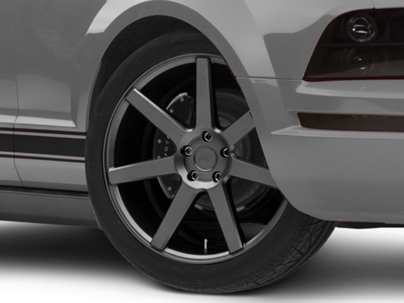 Niche Verona Anthracite Wheel - 20x10 - Rear Only (05-09 All)