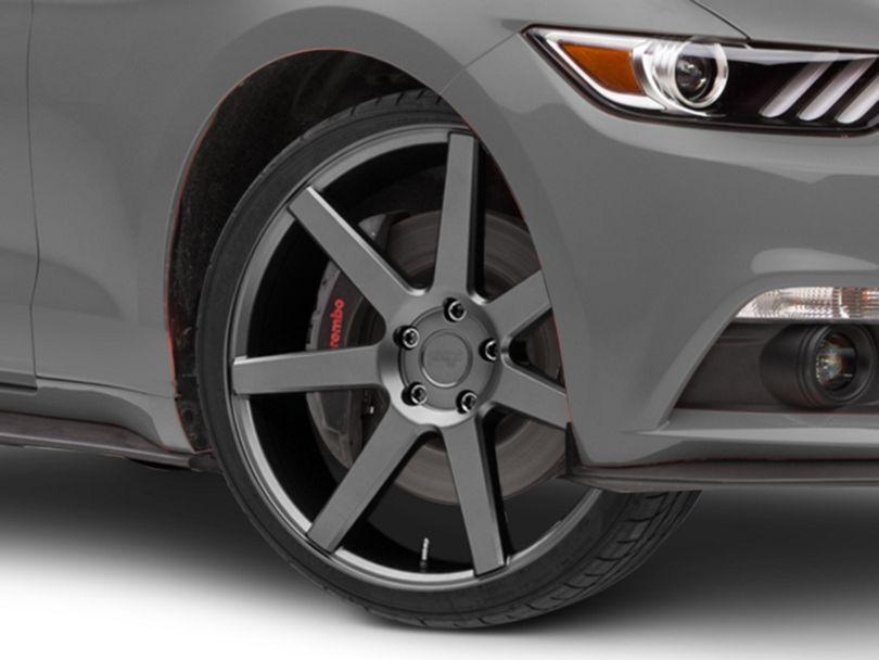 Niche Verona Anthracite Wheel; 20x9 (15-20 GT, EcoBoost, V6)